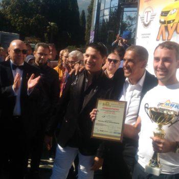 Награждение лучших водителей Крыма